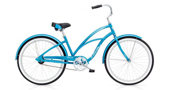 Electra Cruiser Lux 1 Stadsfiets blauw